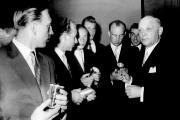 1956 Silberbecher zum Aufstieg