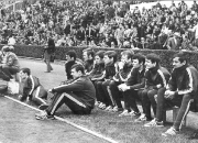 1968 Pokalfinale - Kölner Team vor dem Spiel
