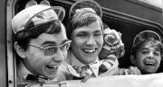 1968 VfL Fans im Zug nach Ludwigshafen