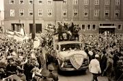 1968 Feier zum Pokalvizetitel