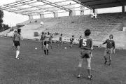 1975/76 Training vor dem Tribünenneubau