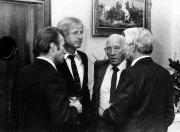 1982 ca. 3 Trainer mit Obmann