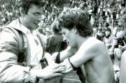 1983-84 Frank Rüger mit Siggi Bönighausen