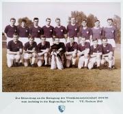 1964/65 Aufstieg in die Regionalliga MB