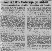 1949/50 - 2.Liga West 2 - VfL Bochum - Bonner FV 3-0