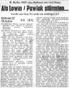 1960/61 - OL West Duisburger SV - VfL Bochum 3-3