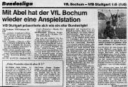 1977/78 VfL Bochum - VfB Stuttgart 1-0