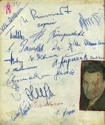 1958/59 VfL Bochum Autogramme