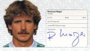1982/83 Scheckheft Reinhard Mager