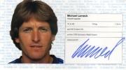 1982/83 Scheckheft Michael Lameck