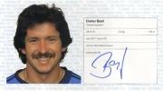 1982/83 Scheckheft Dieter Bast