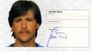 1982/83 Scheckheft Jaroslav Janca