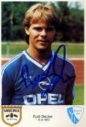 1986/87 Rudi Decker