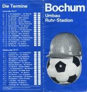 1976/77 Broschüre zum Stadion-Umbau