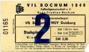 1976/77 Tickets
