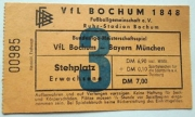 1976/77 Ticket VfL-FCB 5:6