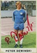 1975/76 Peter Dewinski