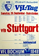 1973/74 - 125 Jahre VfL Bochum - VfB Stuttgart