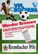 1983/84 Werder Bremen