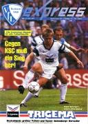 1991/92 - 7 Karlsruher SC