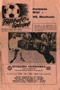 1966/67 Holsein Kiel - VfL Bochum DFB-Pokal