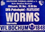 1972/73 Wormatia Worms Pokal