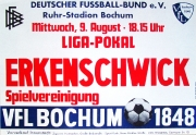 1972/73 VfL Bochum - SpVgg Erkenschwick 3-1 Ligapokal