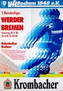 1984/85 Werder Bremen