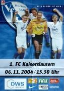 2004/05 1.FC Kaiserslautern