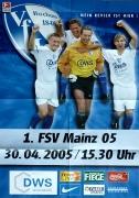 2004/05 FSV Mainz 05
